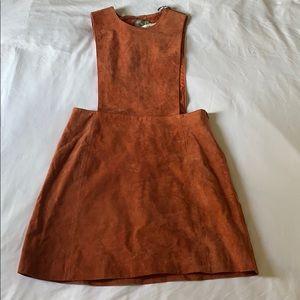 ASOS Suede dress coveralls